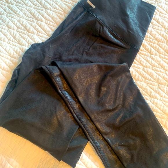 Aerie faux leather leggings